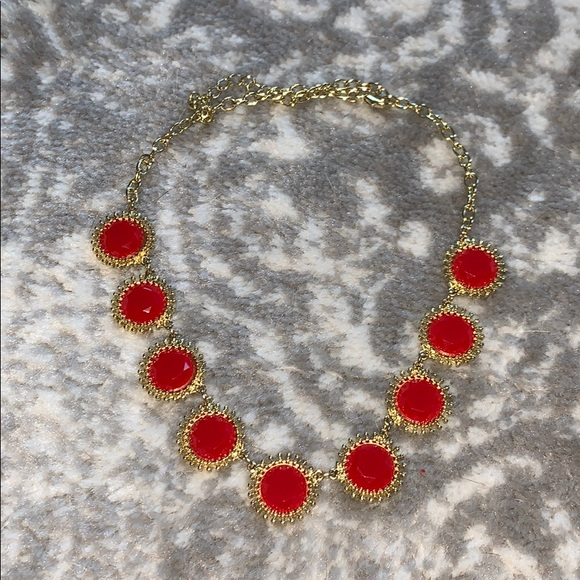 Francesca's Collections Jewelry - Red bauble necklace